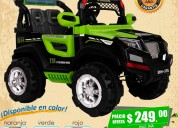 Juguetes carro a batería modelo jeep 1a 6 años