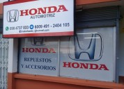 Repuestos para tu honda civic -crv-accord-prelude