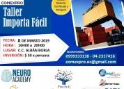 Seminario - taller de importación