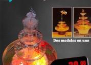 Fuente de agua para tortas pasteles