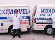 Ambulancia servicio inmediato las 24 horas