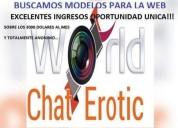 Modelos femeninas para la web
