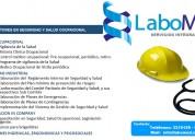 Labomed servicios integrales/ medicina ocupacional