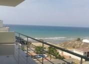 Alquilo departamento amoblado con vista al mar