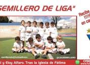 """Escuela de fútbol """"el semillero de liga de quito"""""""