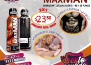 Maxman potenciador sexual masculino energizante