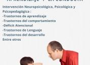 Dificultades de conducta y aprendizaje