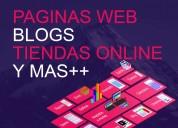 Paginas web, blog, tienda online, sitio web - econ