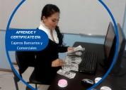 CertifÍcate en cajeros bancarios y comerciales