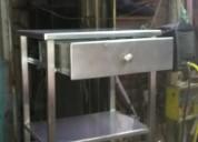 Trabajo en acero inoxidable/alquiler de andamios