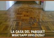 Reparacion de piso de madera