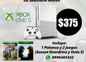 Xbox one s 1tb 2 juegos
