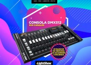 CONSOLA DMX512  504 CANALES