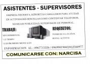 Personal para call center y publicidad