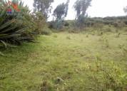 Vendo terreno en otavalo sector calpaqui