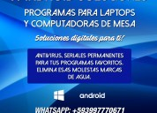 Programas para tu computadora o laptop 2019