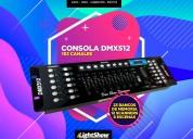 Consola dmx512 - 192 canales
