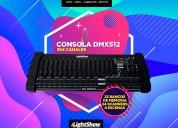 Consola dmx512 384 canales