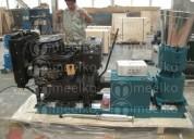 Maquina peletizadora diesel