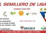 Summer camp 2019 el semillero de liga