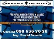 A nivel nacional servicio de oferta (mfc/ushay)