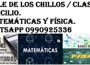 Nivelaciones de matematicas y fÍsica