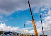Grúas telescópicas para montajes de estructuras