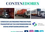 Transporte de carga para contenedores