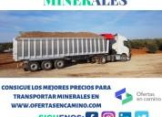 Transporte de carga para minerales