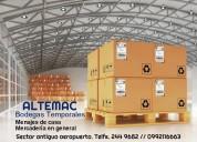 Bodegas altemac - almacenaje temporal y logÍstica
