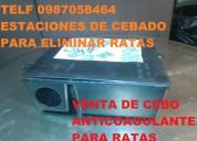 TRAMPAS PARA RATAS CON CERTIFICADO TELEF 2428098