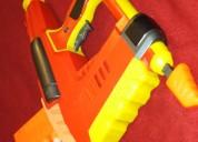 Pistola juguete aire dardos espuma nerfironman