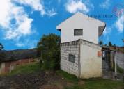 Terreno con 2 casas de venta en santa ana