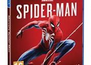 Vendo juego spiderman ps4