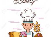 Solicito panadero pastelero