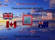 Clases particulares de inglés (english lessons)