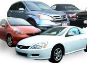 Repuestos y accesorios exclusivamente carros honda