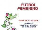 Fútbol femenino el semillero de liga