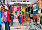 En venta ropa para damas pedidos guayaquil 0994237