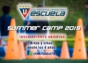"""Summer camp 2019 escuela de futbol """"el semillero"""""""