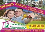 "Inmobiliaria zaracay ""inmobizar"" - bienes raices"