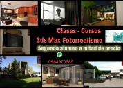 3dsmax clases 2do alumno 1/2 de precio guayaquil