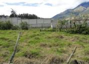 Vendo terreno de 1000 m2 en otavalo lago san pablo