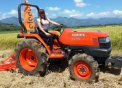 Tractor agricola kubota l4400 de 45 hp