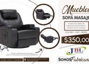 Sofá masajeador, muebles para hogar u oficina, jbl