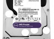 Disco duro wd purple 2 tb para video vigilancia in