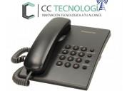 Teléfono panasonic kx-ts500 semi nuevo cc tecnolog