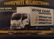 Camiones de alquiler. 0983487180