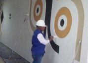 Mantenimiento y pintura exterior e interior