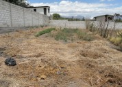 Vendo terreno en atuntaqui de 300 m2 (10m x 30 m)